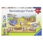 Ravensburger Construction Site Puzzle - 2 x 24