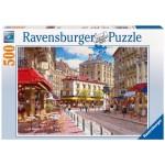 Ravensburger Quaint Shops Puzzle - 500 Pcs