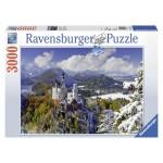Ravensburger Neuschwanstein Castle in Winter Puzzle - 3000 pcs