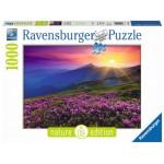 Ravensburger Bergwiese Im Morgenrot Puzzle - 1000pcs