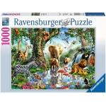 Ravensburger Adventures In The Jungle Puzzle - 1000pcs