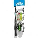 Yello Telescopic Fishing Rod Set