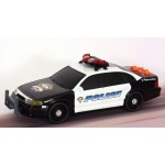 Toy State Rush & Rescue 14 inch Police Car
