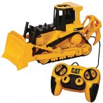 Toy State CAT Job Site Machines R/C - Bulldozer