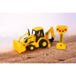 Toy State CAT Job Site Machines R/C - Backhoe