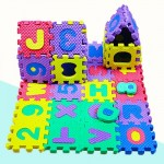 Waya EVA Letters and Numbers Soft Puzzle Mat