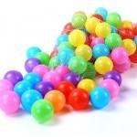 Waya Mix Coloured 3 inch Soft Balls in Mesh Bag - 50pcs