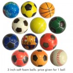 Waya 3 inch Foam Soft Ball