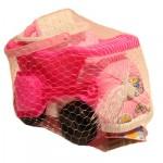Waya Pink Big Dump Truck Beach Sand Set with Bucket Toys