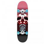 Xootz Doublekick Skull Beginner Skateboard - 31 inch