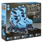 Xootz Inlines Roller Skates Blue - Small